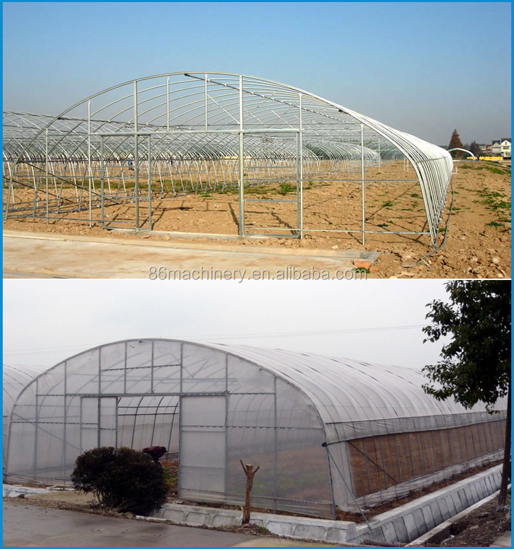 Small Tunnel Temperature Control Greenhouse For Vegetable - Buy ...