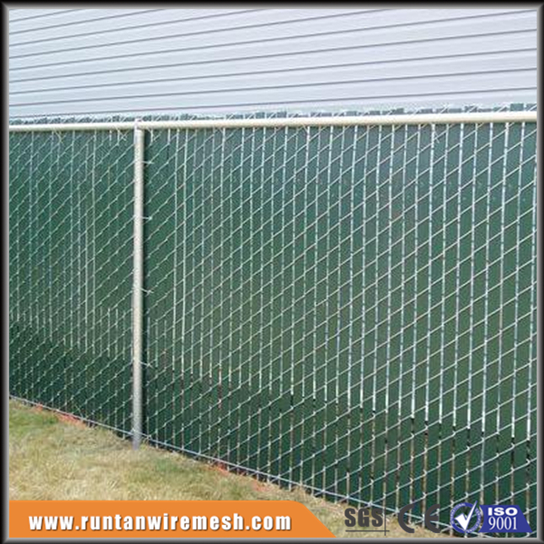 plastic chain link Privacy Slats for chain link fence