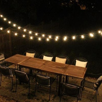 2019 perfect Outdoor Party Garden wedding backyard Christmas cafe globe light bulb strings