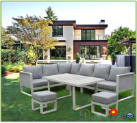 Garden furniture set outdoor furniture rattan beach sunbed made in china