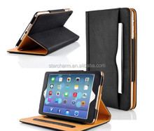 Good quality leather case for apple ipad air 2 for ipad 6 tablet