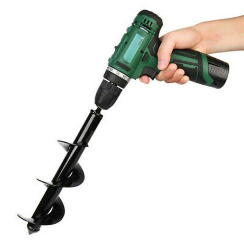 Dropshipping Garten Auger Spiral Drill Bit