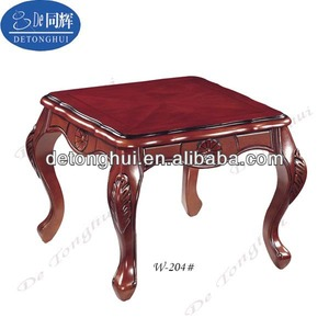 2014 Home Furniture Wooden Tea Table Practical Made In China (W-204# walnut)