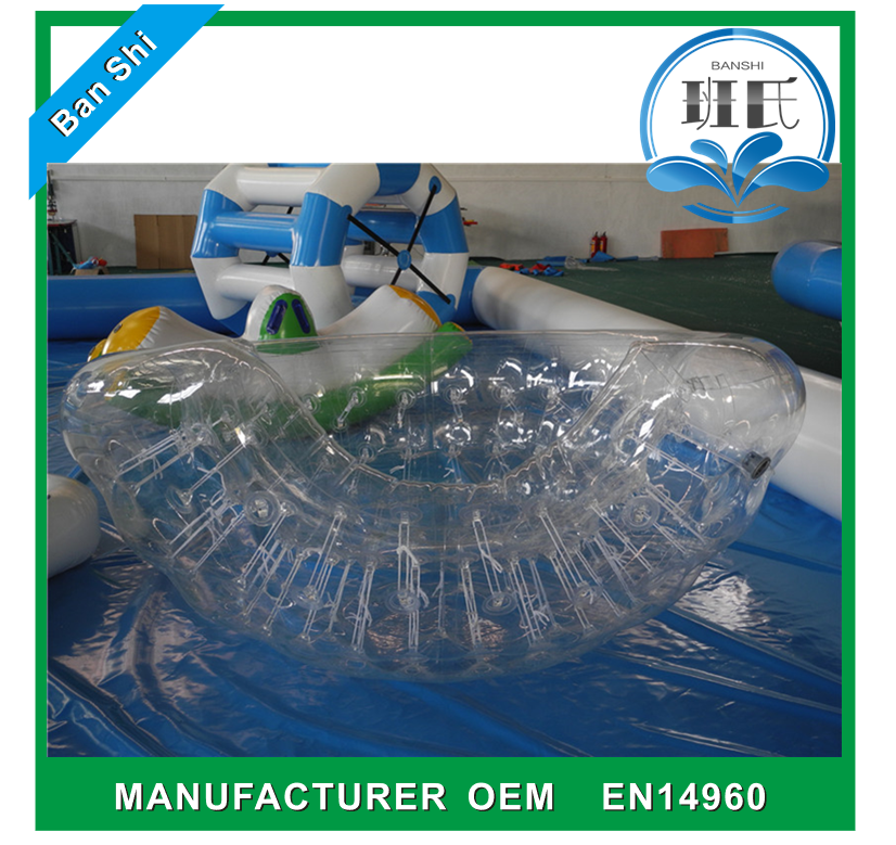 Wholesale price large inflatable water pool toys, water park toys, pool float