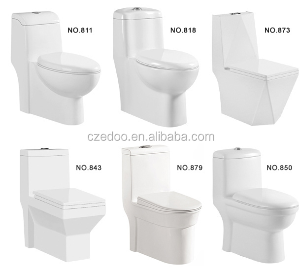 Best Selling Toilet Water Closet Sanitary Ware Siphonic One Piece Bathroom Accessories