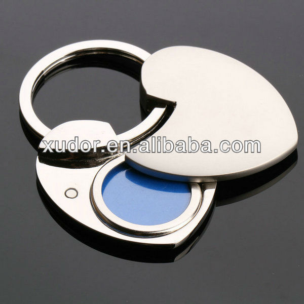 OEM HEART SHAPED PHOTO FRAME KEYCHAIN