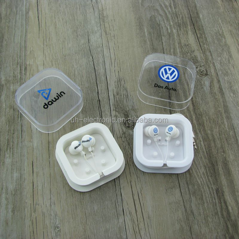 cheap crystal box packaging earphone