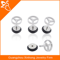Fashion Stainless Steel Earrings, Fancy Stud Earring For Women and Men, Cheap Wholesale Earring Stud Jewelry Supplies