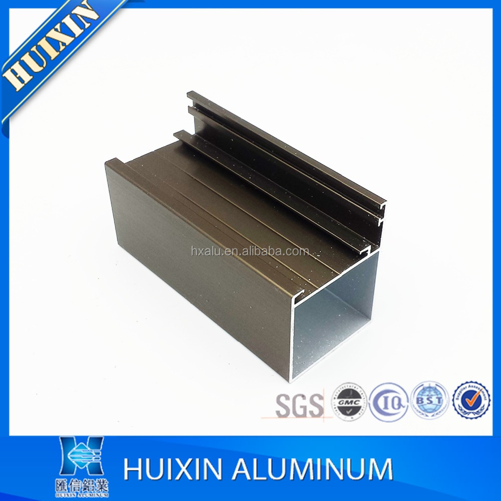 6063 T5 anodized aluminum aluminium section to make doors and windows