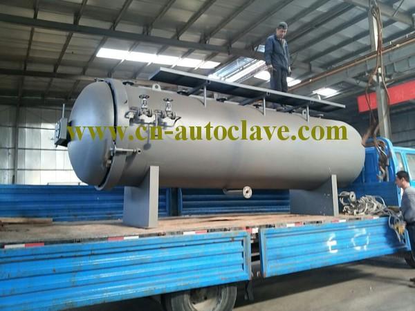 Vulcanizing Horizontal Pressure Vessel Rubber Roller