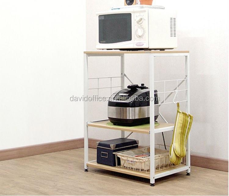 Armadio da cucina di bordo scaffale per cucina a microonde - Scaffale cucina ...
