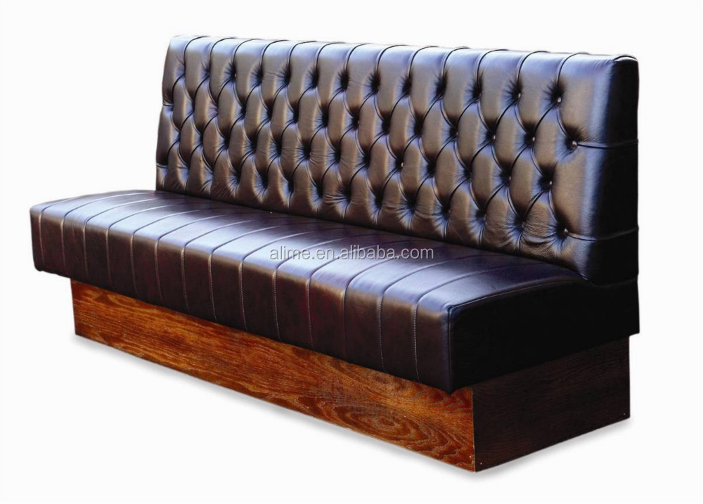 alime leather booth seating sofa bench restaurant furniture buy restaurant booth seating. Black Bedroom Furniture Sets. Home Design Ideas