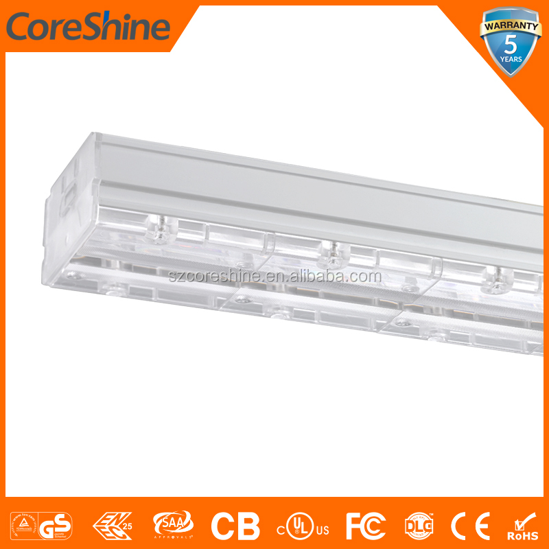 Good Lumen Maintenance ERP 6000 Hours GS CB 130 lm/w LED Linear Light Trunking System