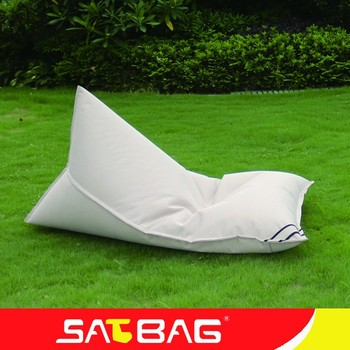 Superb Triangle Shaped Casual Outdoor Recliner Bean Bag Buy Beanbag Triangle Bean Bag Chair Outdoor Bean Bag Lounger Product On Alibaba Com Unemploymentrelief Wooden Chair Designs For Living Room Unemploymentrelieforg