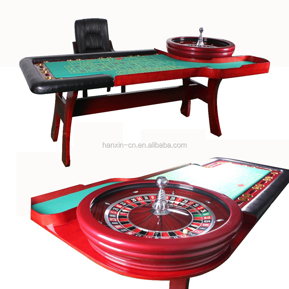 High quality table poker, casino craps table, casino roulette table