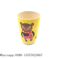 Health baby drinking cup and training cup for kids,bamboo excellent set for children