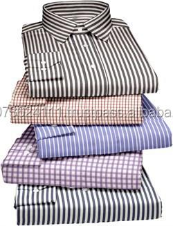 Cotton formal full sleeve high end men 39 s dress shirt buy for High end men s dress shirts