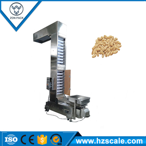 electric driven type and automatic pouch bucket elevator z type conveyor for food