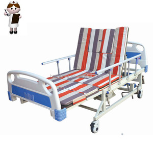 Five crankers medical chair beds the sick recovery foldable medical bed