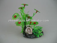 2014 popular fish tank decoration fish aquarium accessories water plant