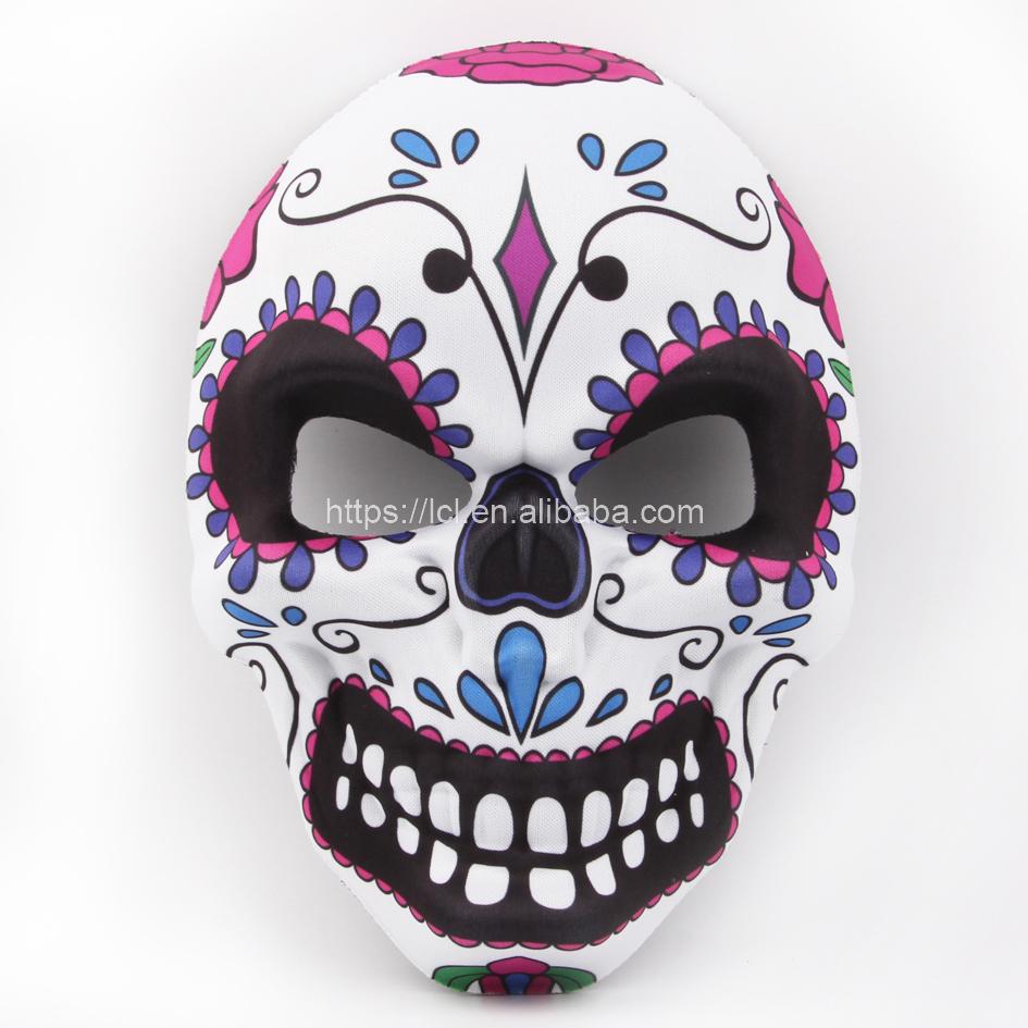 Halloween EVA 3D scary full face schädel maske venetian masquerade karneval masken partei tag der toten maske