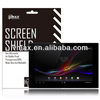 Crystal clear screen protector for Sony Xperia Tablet Z oem/odm (High Clear)