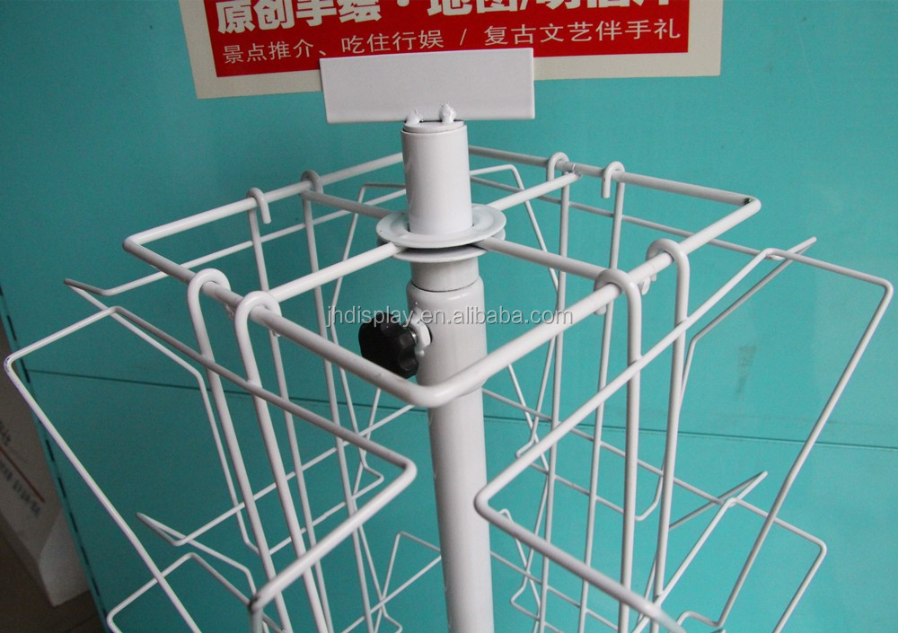 Rotating Metal Wire Greeting Card Display Rack Stand,Spinning ...