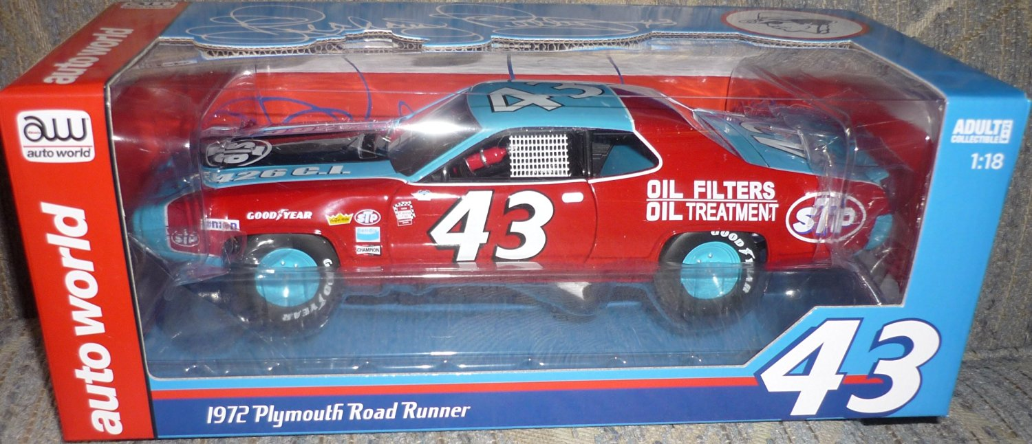 Cheap Plymouth Roadrunner Find Deals On Line At 1970 Satellite Wiring Diagram Get Quotations Aw 1 18 72 Richard Petty