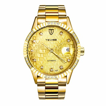 Cheap Tevise Branded Advanced Technology Watch Mechanical Automatic Moon And Stars Showed Watch Buy Technology Watch Mechanica Watches Moon And