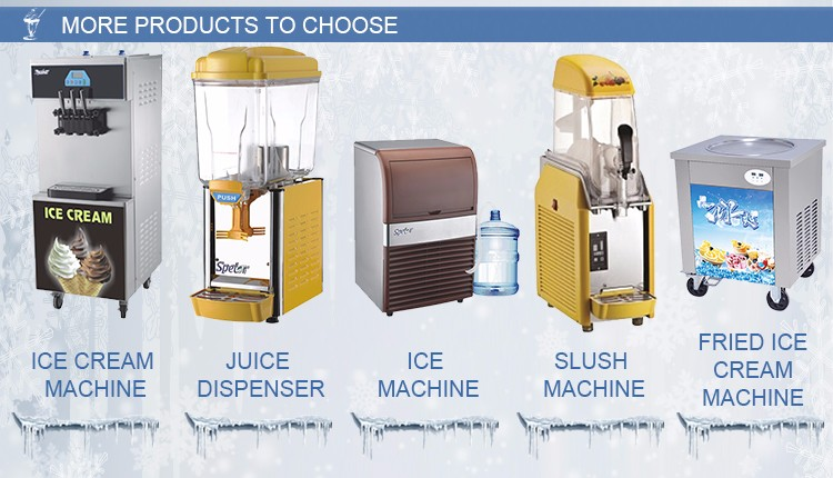 Excellent Material Widely Use Fashion Desktop Ice-cream Machine
