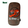 Brand Faux Leather Boxing Sanda Foot Target Training equipment Pad For Kicking Boxing Taekwondo Shockproof Tiger