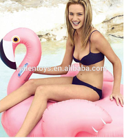 custom giant inflatable flamingo pool toy/water floating inflatable flamingo