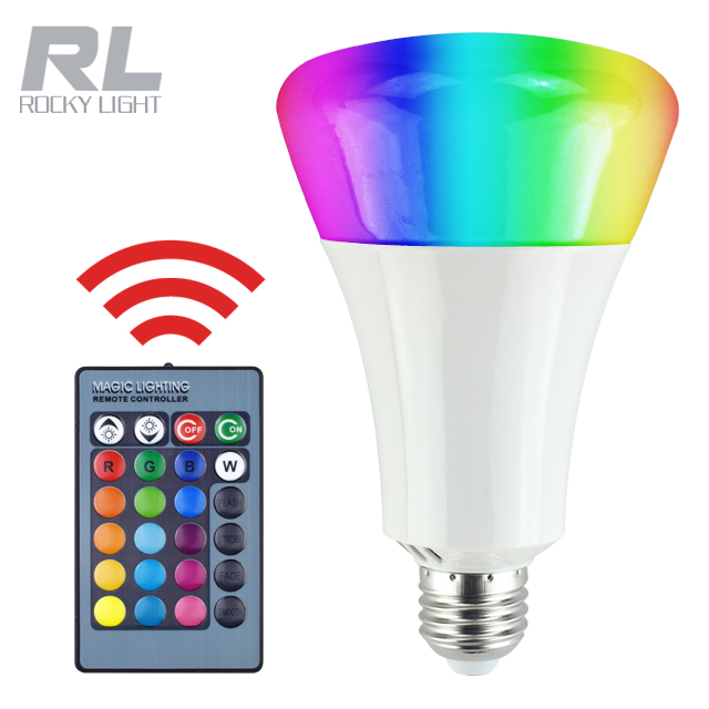 Led Bulbs & Tubes Light Bulbs 265v 16 Color Change Rgb Bulb Led Light Lamp With Remote Control For Bar Ktv Decoration United New Year Lighting E14 E27 Gu10 3w 85v