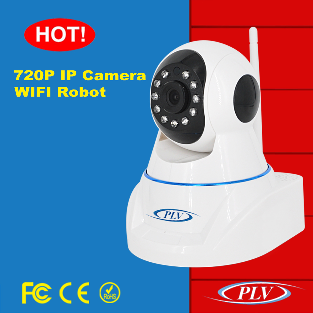 October 2016 most buyer like and hot sale cctv ip robot 720p wifi camera