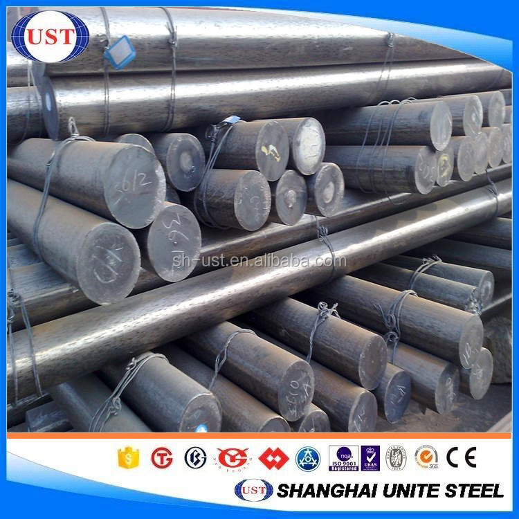 Hot rolled alloy steel round bars 40cr / 41cr4 / 5140