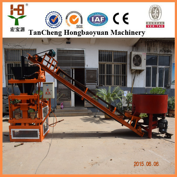 Automatic Clay Brick Making Machine Suppliers Hby1-10 China ...