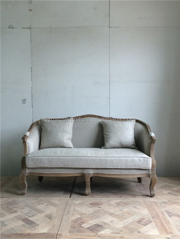 French Style Wooden Bedroom Furniture Antique Classic Goods Sofa Design