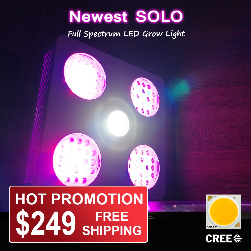 2016 Newest Superb Cxa 2540 Cob Led Grow Light 300w With Full ...