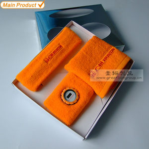 promotional sports cotton gift set