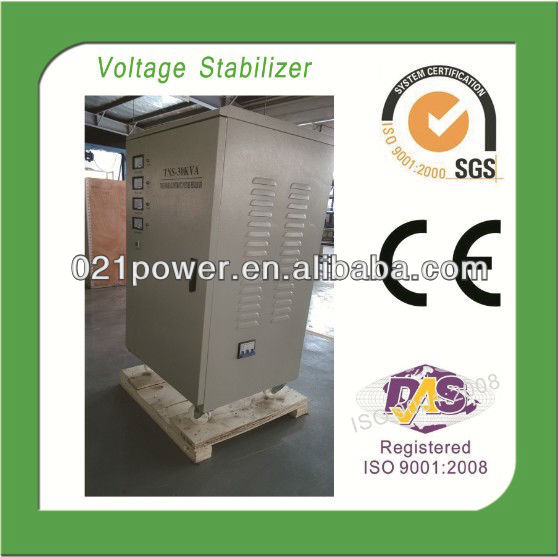 30KVA 3 Phase Servo Motor Voltage Stabilizer.