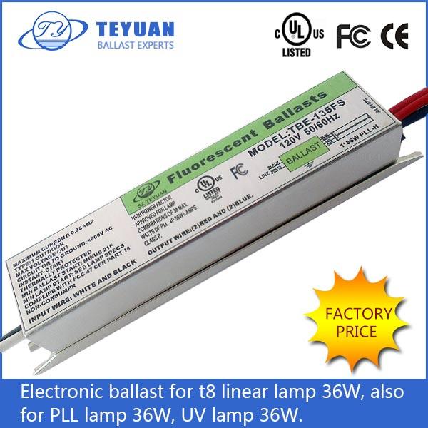 36w prezzo reattore elettronico per lampada fluorescente for Lampada uv per tartarughe acquatiche prezzo