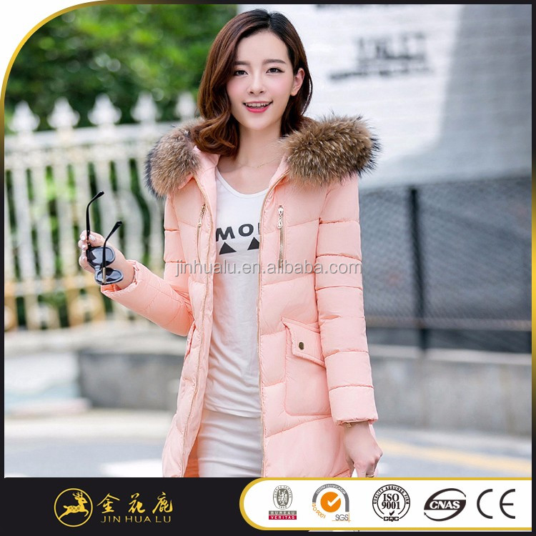 New style beautiful women black burton down coats