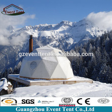 Winter Tent Yurt Luxury Mongolian Tent Used For Outdoor Camping