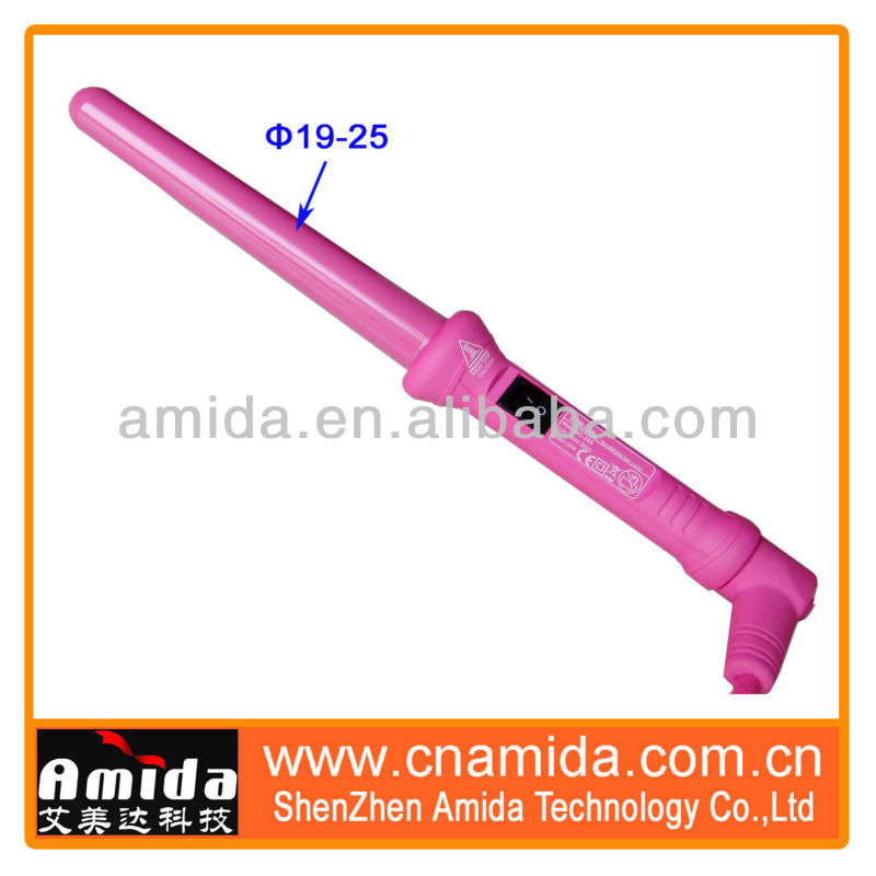 Trade Assurance, Roller Iron Machine, Classic Professional Salon Curling Wand Ceramic Coating Rolling Tong + Free Glove