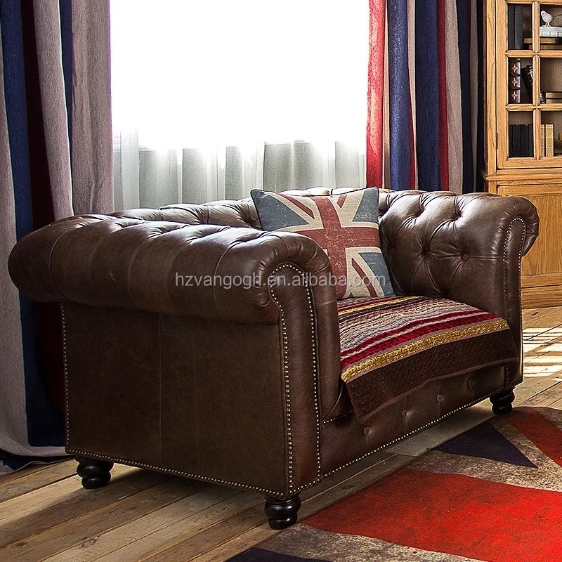 Country Leather Sofa: French Country Provincial Leather Sofa,Luxury French Sofa