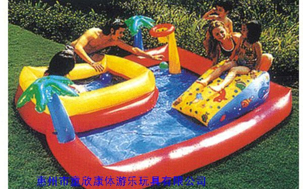 Kids inflatable pool images galleries for Children s garden swimming pools