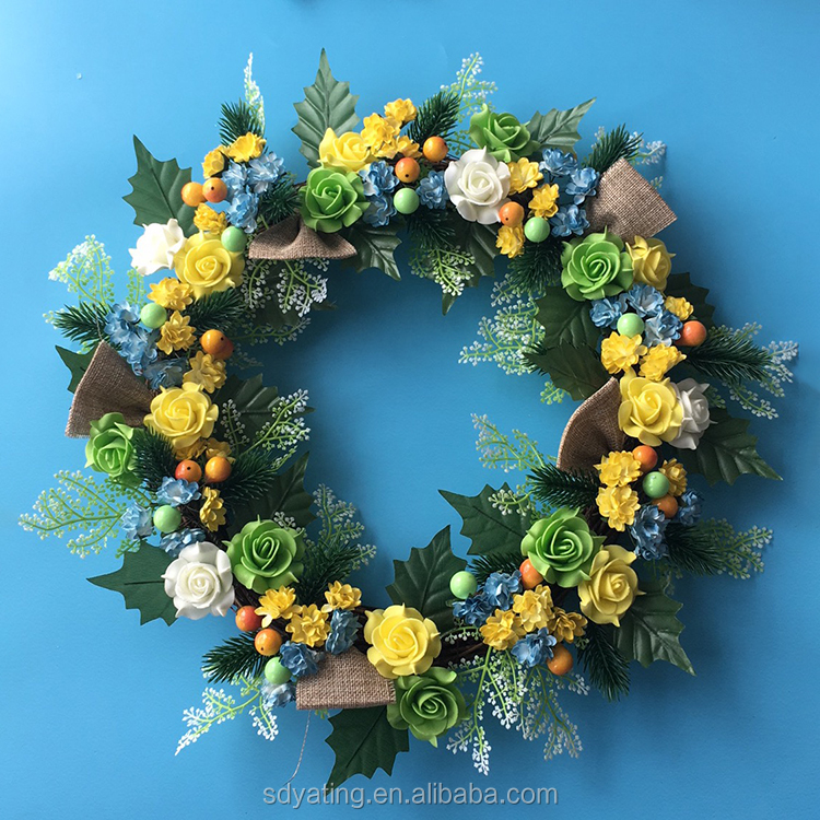 Spring Wreath, Spring Wreath Suppliers and Manufacturers at Alibaba.com