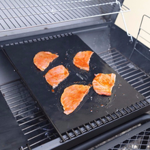 Mat barbacoa grill para TV de compras y Amazon
