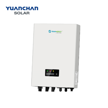 Trannergy Grid Tire Solar Inverter Single Phase 3kw 4kw 5kw 6kw For Solar Electric  Power System