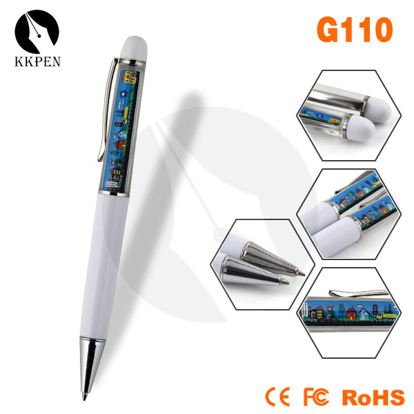 Jiangxin colorful pvc floater liquid pen